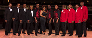 The Cornell Gunter's Coasters, The Drifters and The Platters Holiday Show